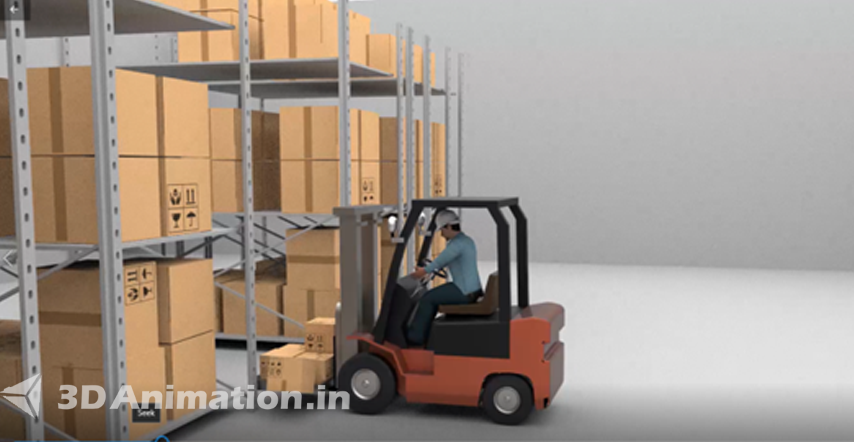 3D Industrial Safety Videos Product Animation Preview