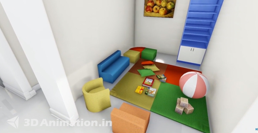 Architectural walkthrough animation services in India