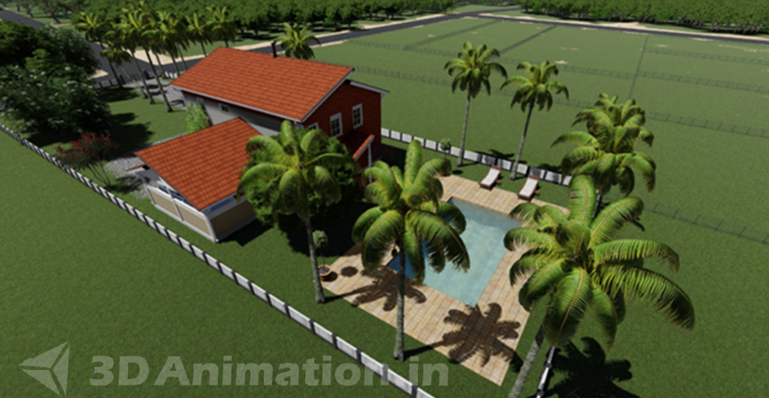 3d architectural animation rendered images
