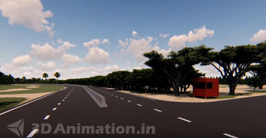 Architectural Animation For Real Estate And Land Promoters- 3 star Farm House ECR