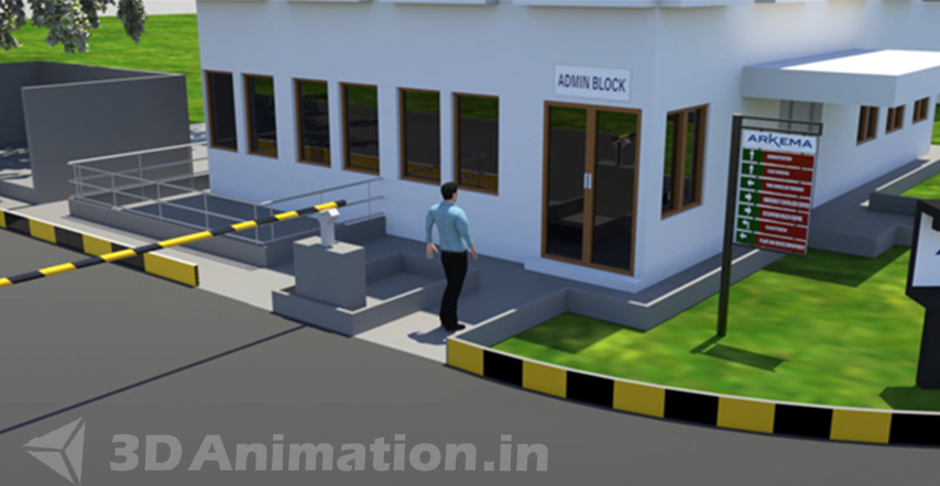 Editing & Final HD of 3D Industrial Safety Animation Videos