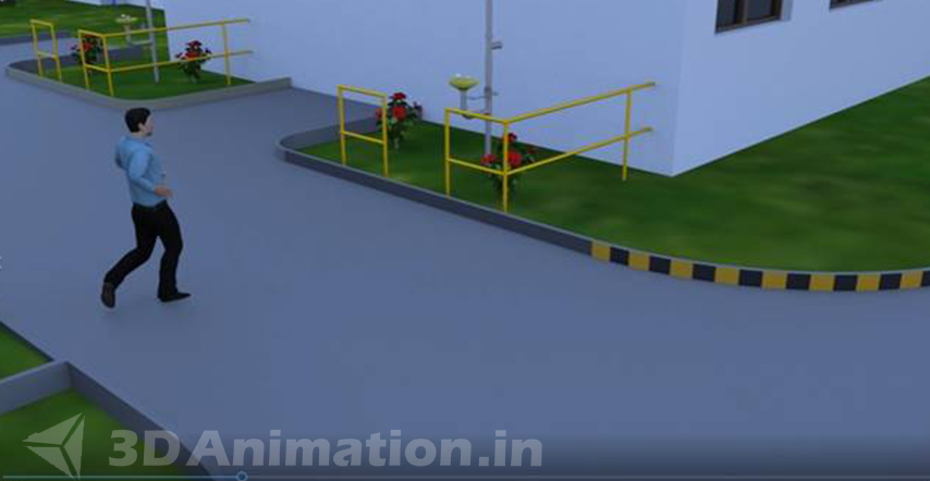 3D Industrial Safety Animation Preview video