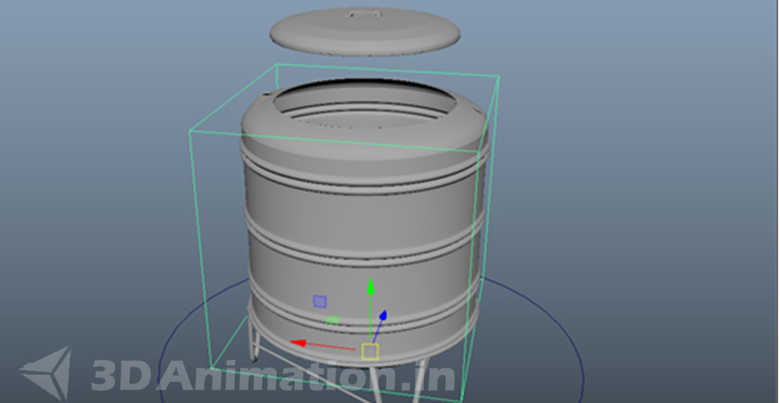 3D Product Animation stage