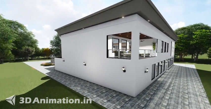 Architectural walkthrough animation company in India