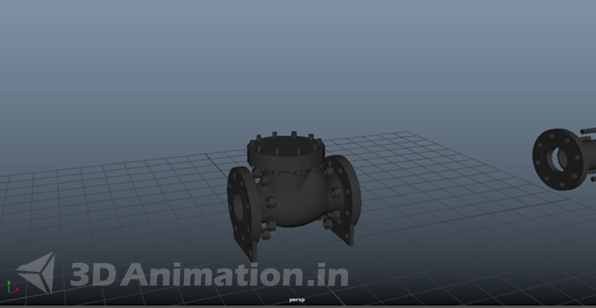 3D Modeling & Texture of mechanical animation - LnT