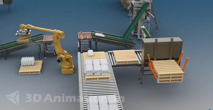 Packaging Animation Video Texturing