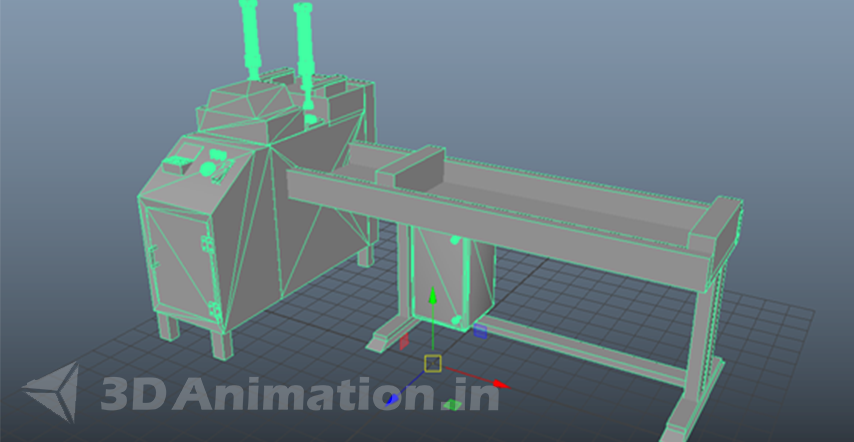 3D Modeling & Texture of Engineering Animation