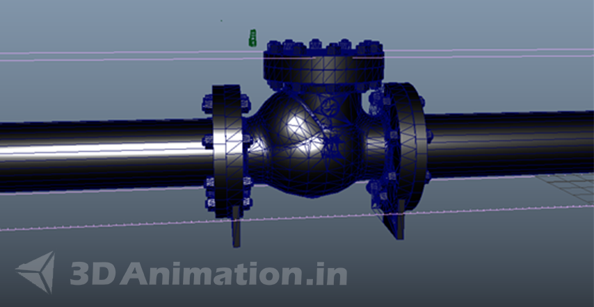 3D Mechanical Engineering Animation Process - LnT