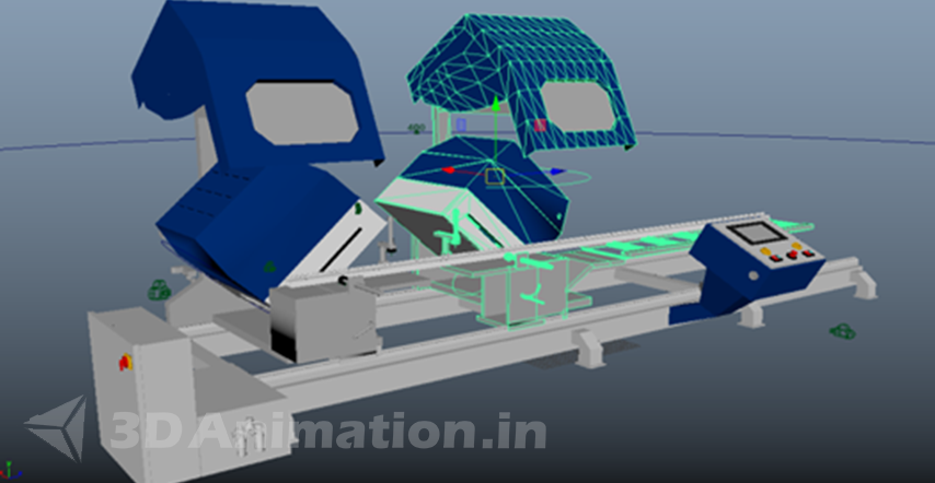 3D Animation process of Engineering Animation - UPVC