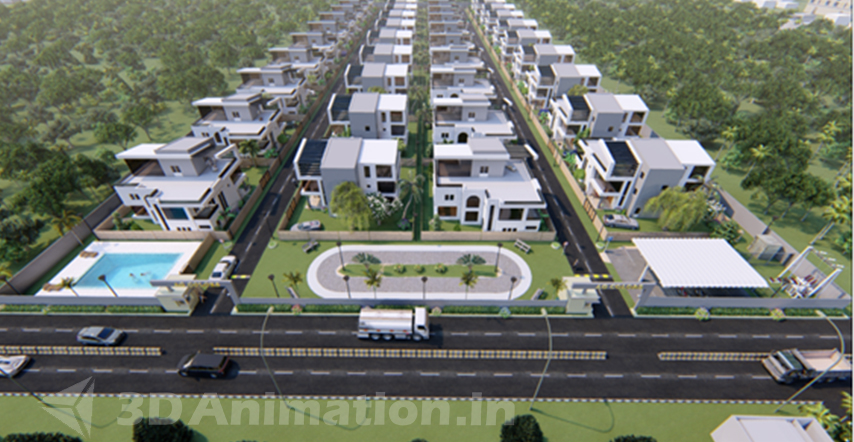 3D Architectural Walkthrough Services in India