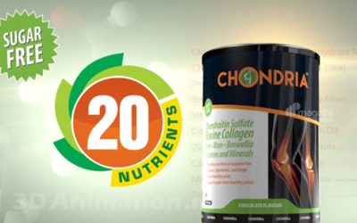 Chondria Knee 3d Animated Promo Videos for Movie Advertisement