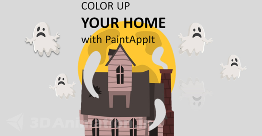 2D Funny Ghost Animated Commercials storyboard - PaintApp