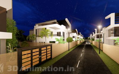 3D ARCHITECTURAL WALKTHROUGH VIDEO FOR RESIDENTIAL VILLAS NEAR CHENNAI
