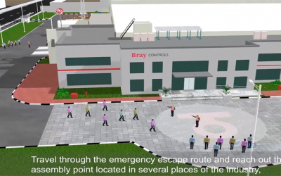 Industrial Safety videos Animation for Bray Controls