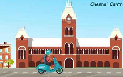 Do you know flying Drone over Chennai is restricted! This resulted us to make 2D Explainer Video!