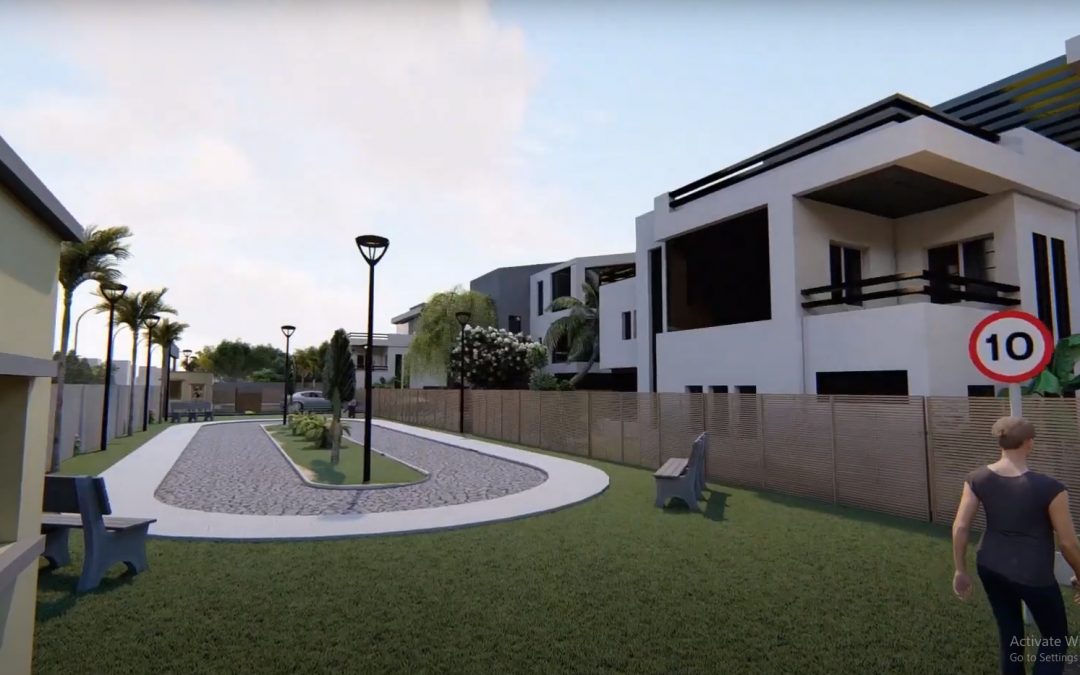 Architectural 3D Modelling and Animation Video