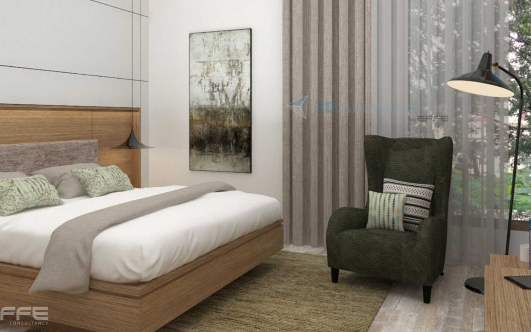 3D Custom Architectural Rendering Service