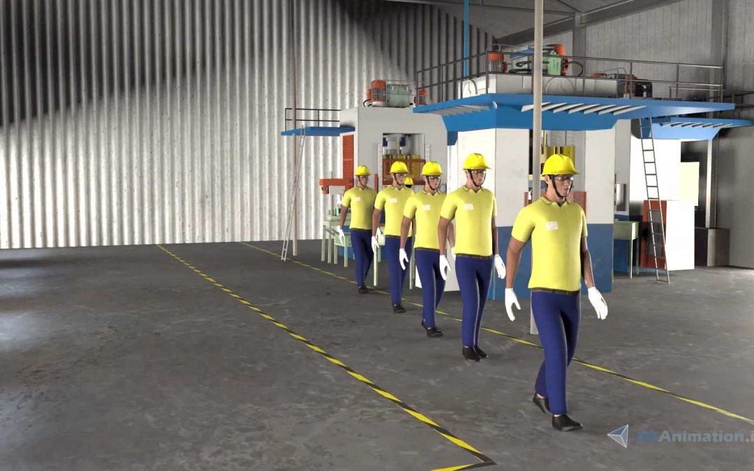 Safety 3D Animation – PPE Video for Training