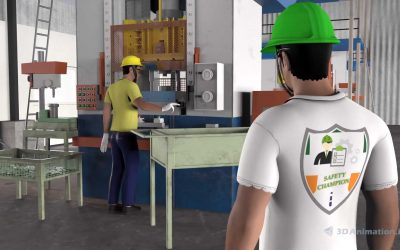 Safety 3D Animation – Forklift Training Video (Machine Safety Video)