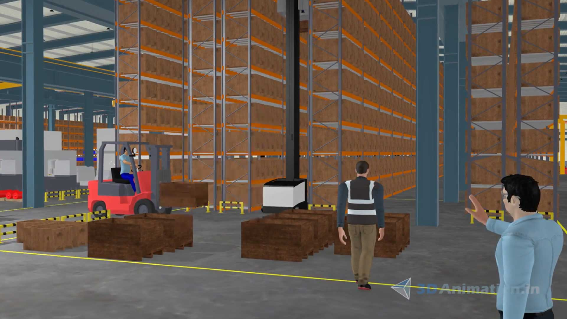 Forklift training video - machine safety video